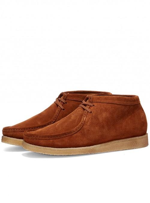 Padmore & Barnes Original Boot – Snuff Suede